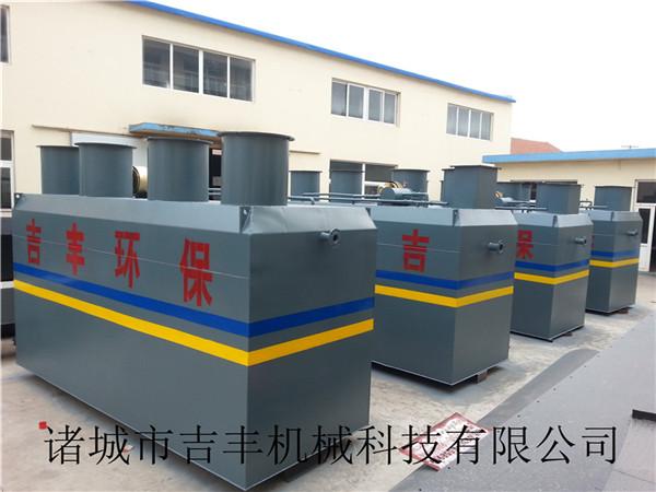 一体化中药污水处理设备故障处理方法