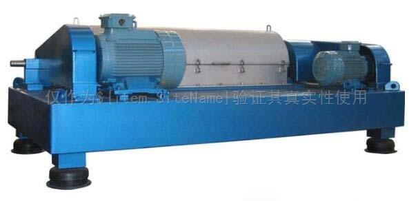 造纸污浆的处理系统;使用卧螺离心机降低成本最大程度地减少污染