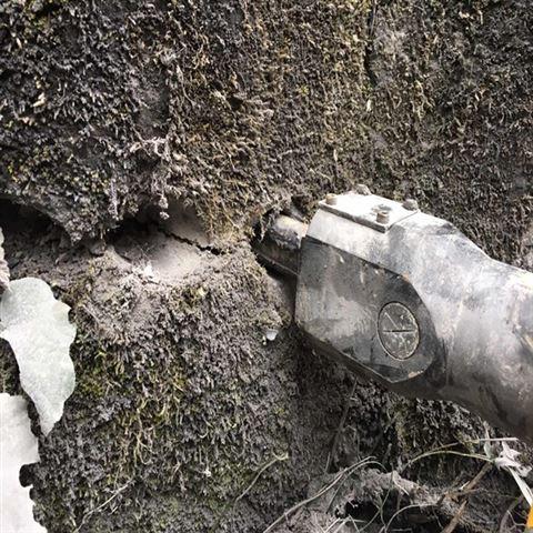 河北保定静态开采岩石液压分裂机