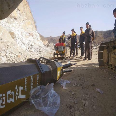 内蒙古替代人工愚公斧岩石劈裂机
