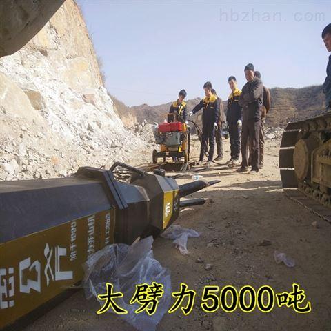 山西运城静态开采岩石液压分裂机