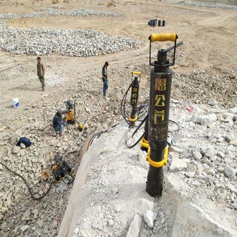 内蒙古赤峰矿洞掘进岩石撑裂机