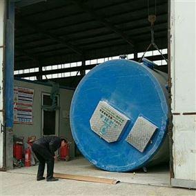 玻璃钢污水雨水预制泵站