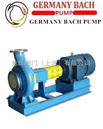 进口纸浆泵‖德国BACH/上海总代理