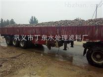 湖南科技大学电厂用卵石蜂窝活性炭塑料滤砖