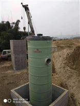 台州玻璃钢一体化泵站9000立方3800*9600