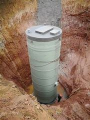 玻璃钢井筒一体化污水提升泵站规格