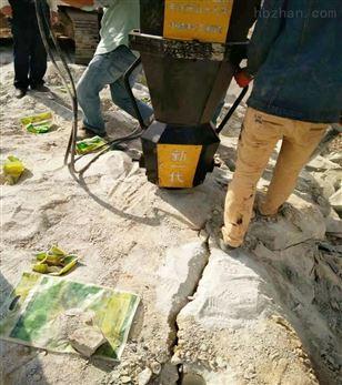 巴彦淖尔基坑开挖无噪音撑石机