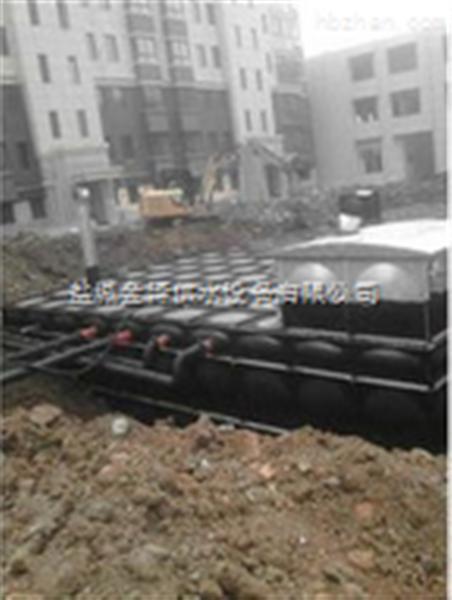 甘肃陇南地埋式抗浮式箱泵一体化消防泵站