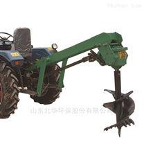 植树造林专用拖拉机后悬挂挖坑机
