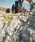 静态破碎机地基岩石无声撑裂机生产厂家