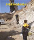 破石头机器配合炮锤高效率打石头劈裂机