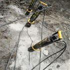 胀石头机器遵义两个人开采荒料用劈裂机产量