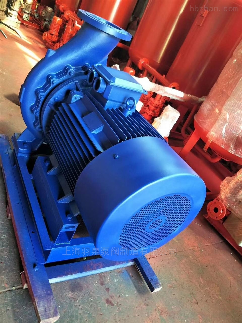 ISW/IRW卧式管道泵
