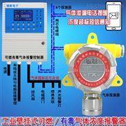 壁掛式二氯甲烷濃度報警器,可燃氣體報警儀APP監測