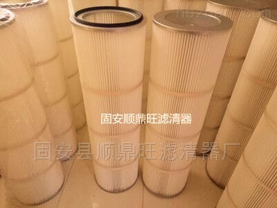 铸造厂除尘器配套耐高温除尘滤筒350*1200