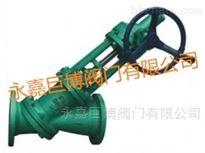 SJS545Y伞齿轮Y型料浆阀/温州厂家