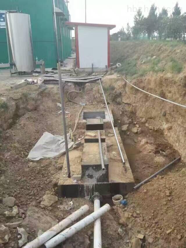 养牛场废水处理设备操作说明