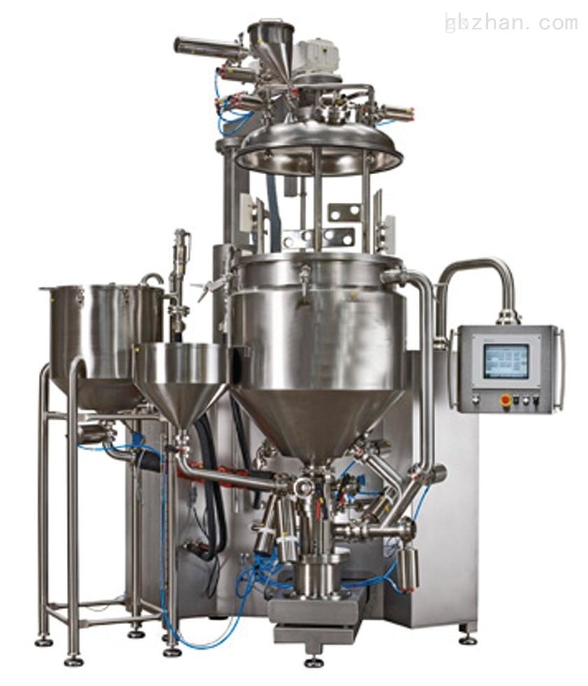 多功能三级管线式高剪切乳化机