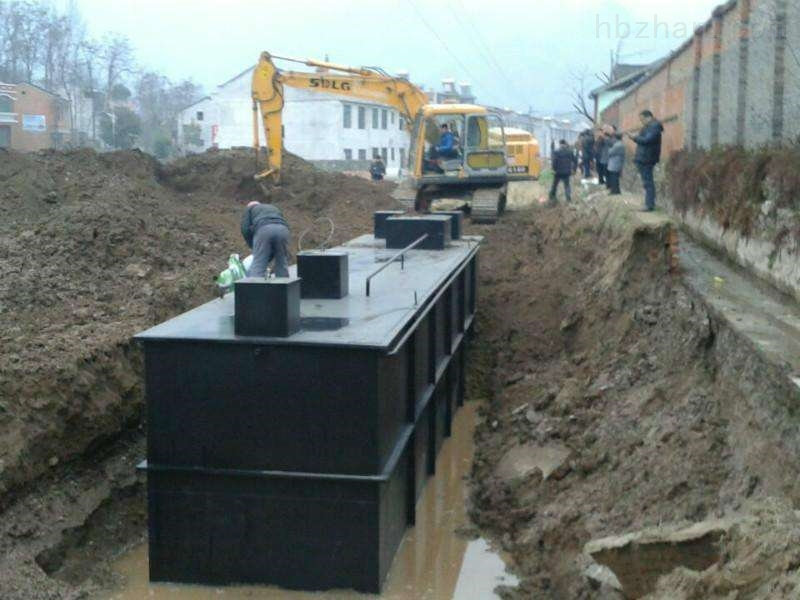 厂区医院废水排放设备出水达标