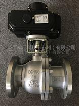 不鏽鋼電動法蘭球閥KQ941F-16P