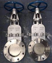 DMZ73W-10NR2520高温锅炉排渣刀闸阀