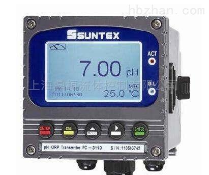 原装正品台湾SUNTEX微电脑PH/ORO在线分析仪