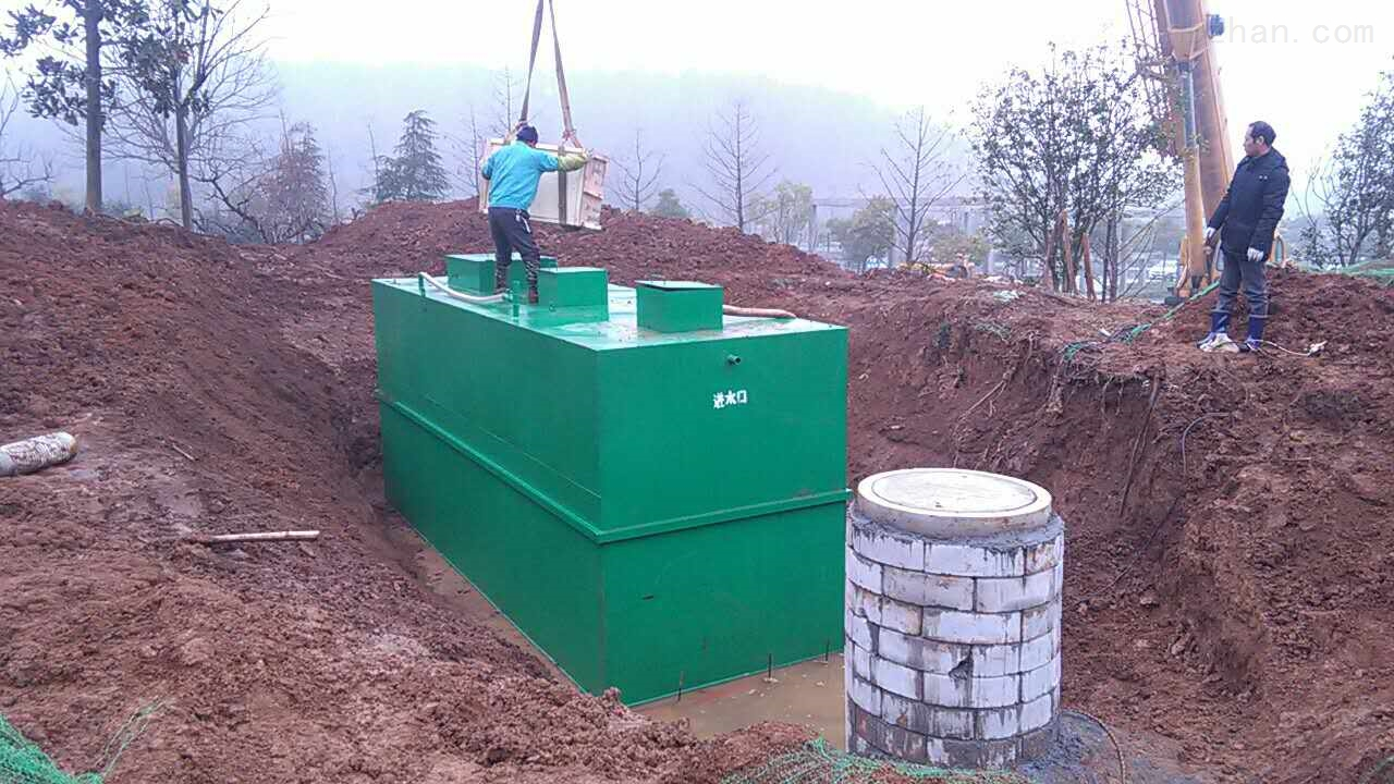 hu州地埋式wu水处理设备安zhuang说ming