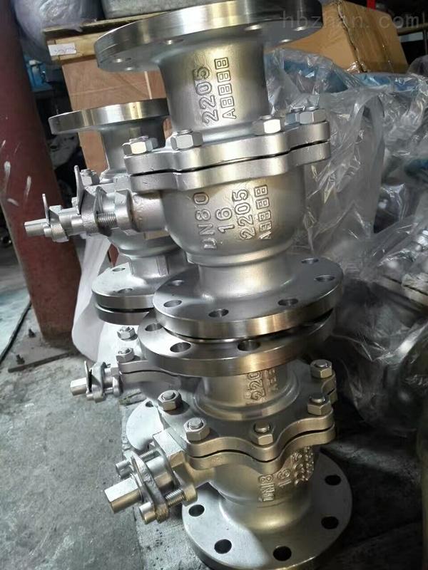 DN80 2205球阀Q41F-16