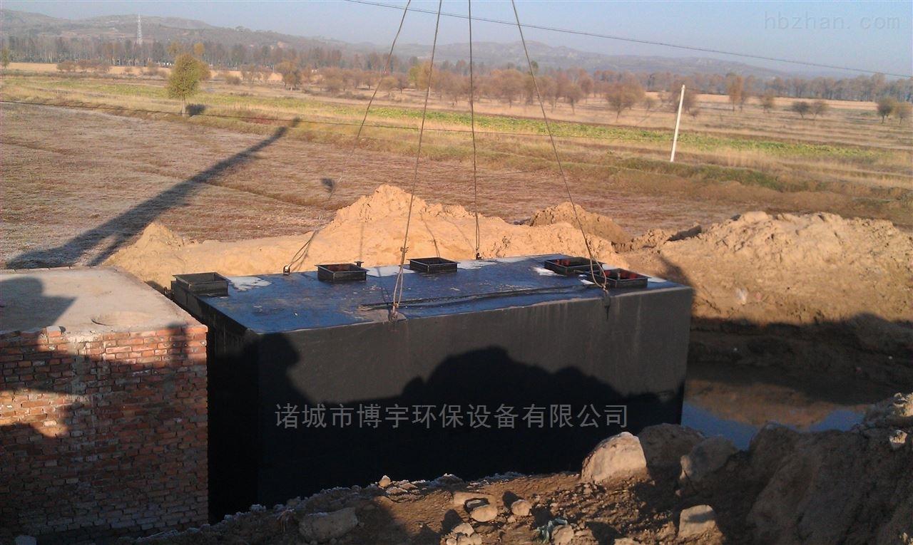 生活污水处理设备工艺流程
