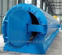 废轮胎专用炼油设备静态隧道炉8-10吨处理量