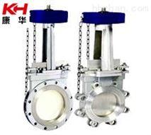 鏈輪式刀型閘閥