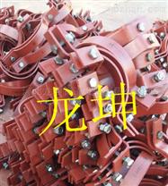 武义基准型双螺栓管夹(河北龙坤管道)