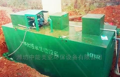 养猪场污水处理工艺方法