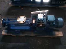 小流量卧式螺杆泵