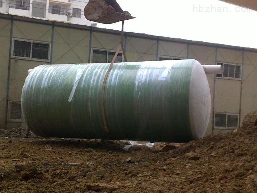 农村生活污水处理玻璃钢设备安装