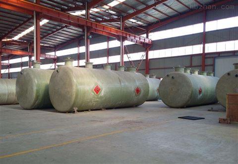 生活区污水处理玻璃钢设备工艺