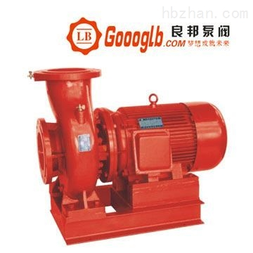 永嘉良邦XBD3.2-65W卧式单级单吸消防喷淋泵