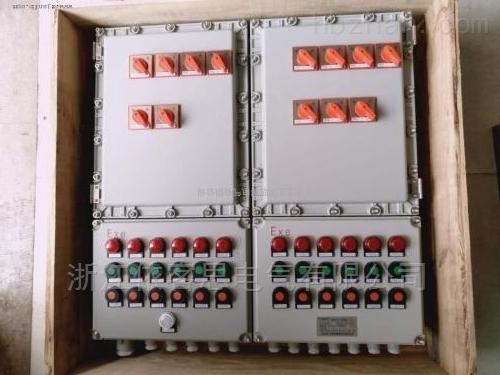 BEP56钢板焊接防爆照明动力配电箱操作箱