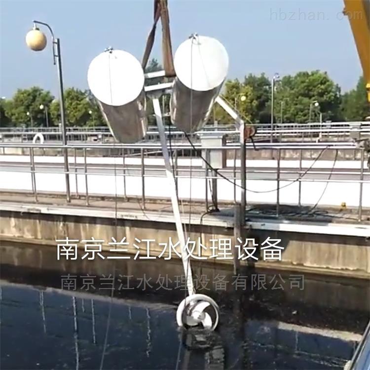 玻璃钢浮筒式潜水搅拌机