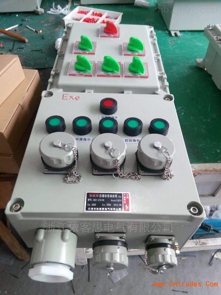BDX52-4K/63XX防爆动力检修电源插座箱