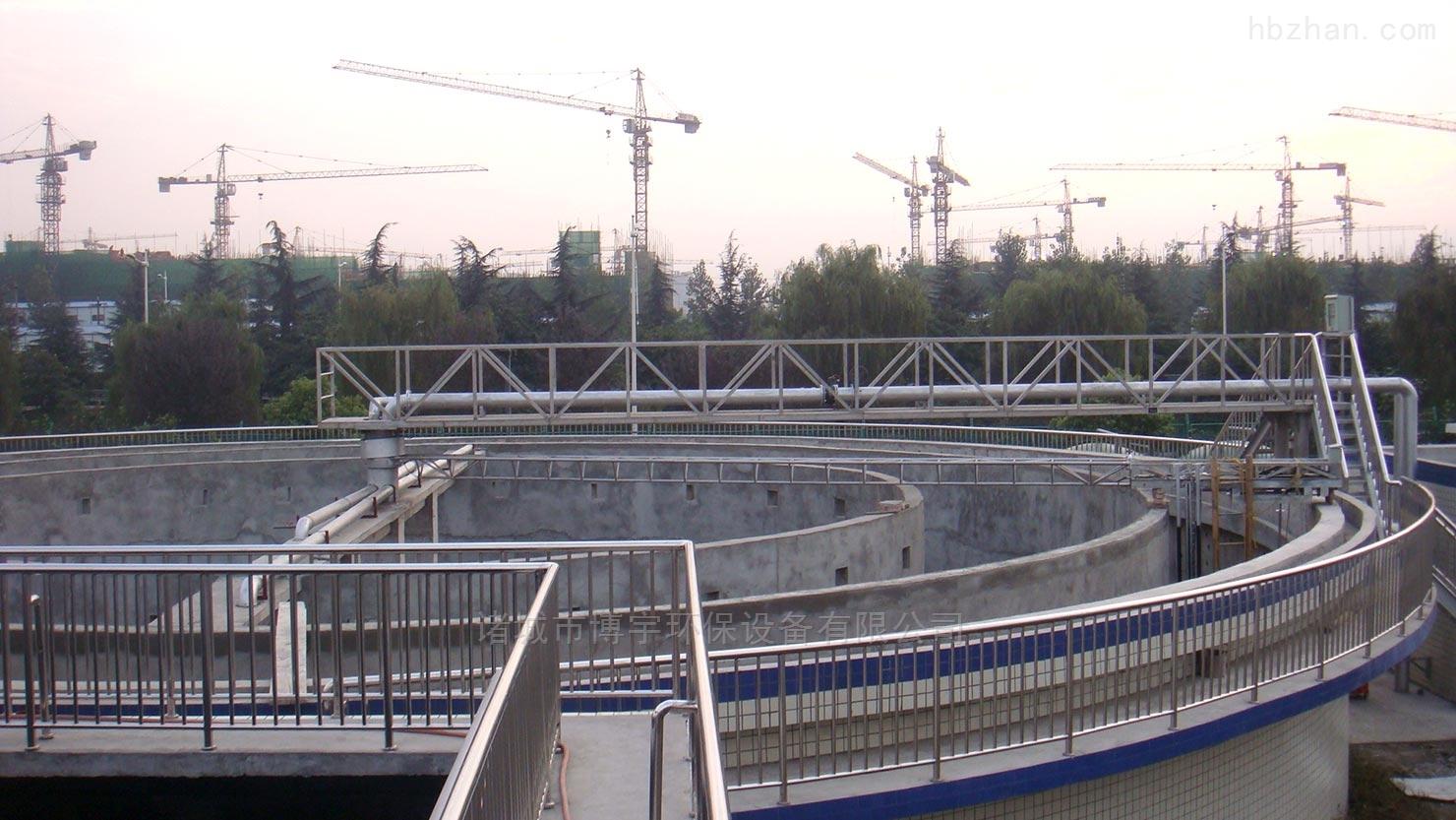半桥式刮吸泥机方案