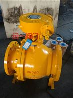 上海阀门蜗轮传动天然气球阀Q341F-16C