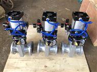 GJ6B41X常闭型气动管夹阀