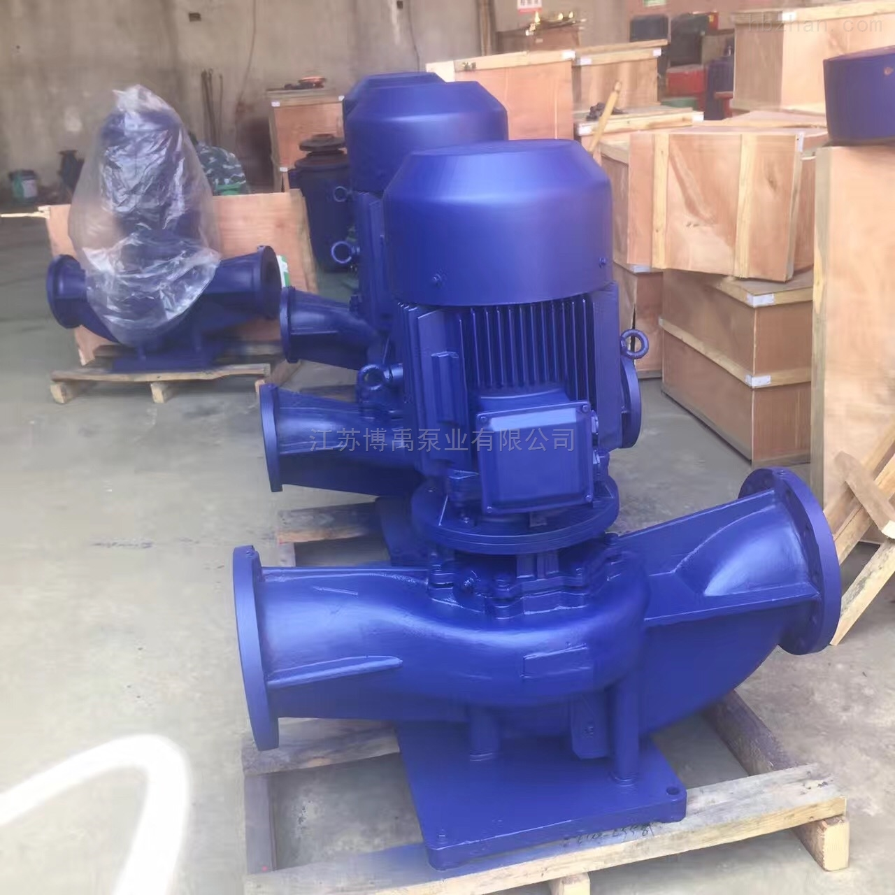 立式热水循环泵型号选型及参数