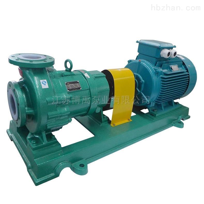 氟塑料磁力泵型号参数及选型