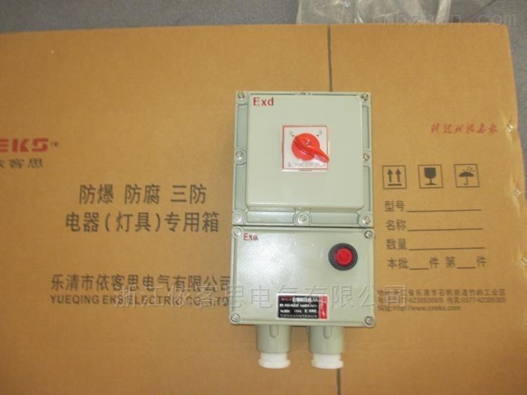 BDZ51粉尘防爆断路器开关箱