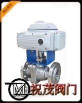 Q941F電動法蘭球閥