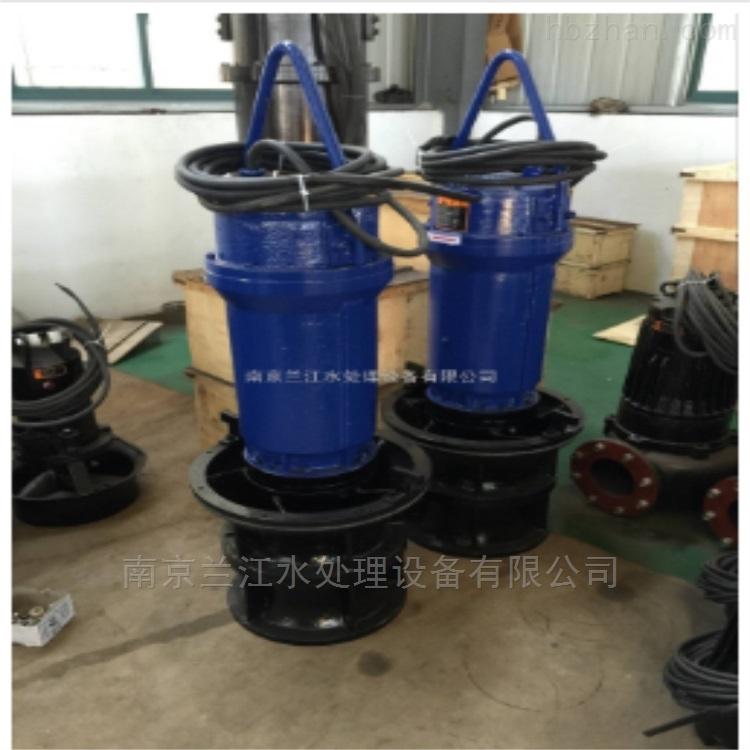 立式潜水轴流泵选型