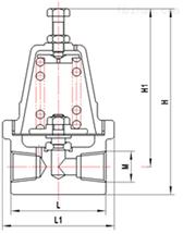 DY12F低温降压调节阀
